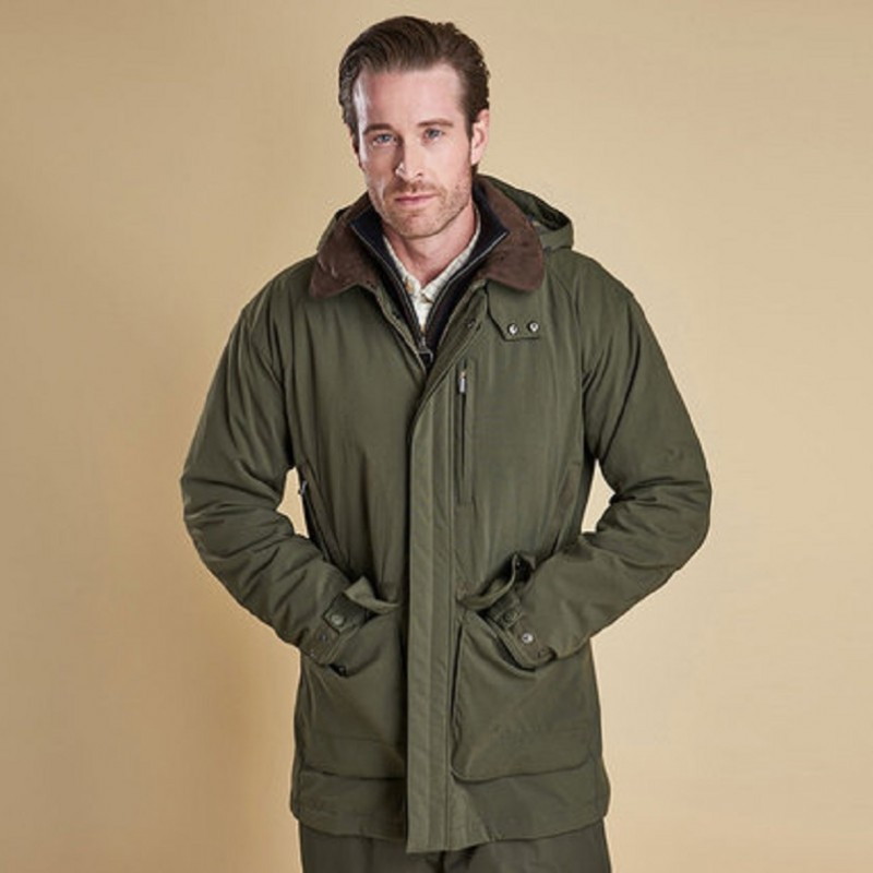 Barbour – Bransdale Jacket – Forest Green