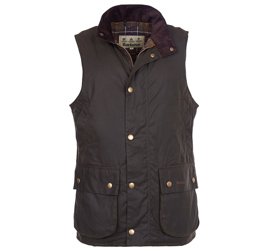Barbour – Westmorland Waxed Waistcoat – Olive