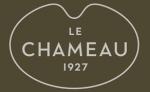 logo_lechameau_outlinecoolgrey_fondvertchameau